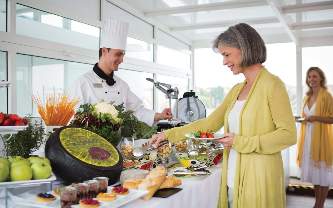 Feasting on Food with Kosher River Cruises