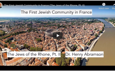 The First Jewish Community in France