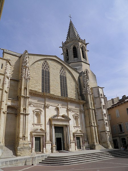 The Saint Siffrein Cathedral