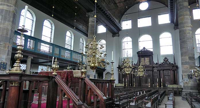 Esnoga, The Portugese Synagogue in Amsterdam